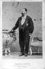 Ritratto fotografico a figura intera di Vittorio Emanuele II