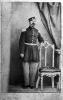 Fotografia in posa di un ufficiale del Regno di Sardegna