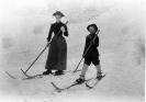 Sciatori (skiatori) di fine Ottocento