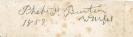 Dagherrotipo 081a - Signed note  ©Chiesa-Gosio