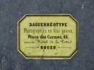 Dagherrotipo 177a - Nota scritta  ©Chiesa-Gosio
