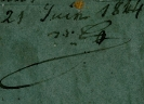 Dagherrotipo 179a - Signed Note  ©Chiesa-Gosio