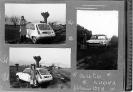 Foto ricordo per festeggiare la prima uscita con l'automobile nuova, 1978