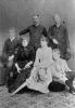 I componenti della famiglia reale dei Savoia riuniti in una immagine degli Alinari