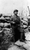 Immagine ricordo di un fante della Grande Guerra 1915 - 1918