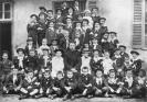 Foto in posa di una classe in scuola privata