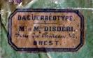 Dagherrotipo 101a - Etichetta del fotografo   ©Chiesa-Gosio