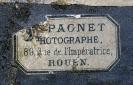 Dagherrotipo 150a - Etichetta del fotografo©Chiesa-Gosio